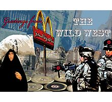 Greetings from the Wild West Photographic Print