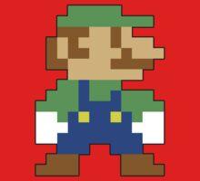 Super Mario 3D World Luigi Sprite Kids Clothes