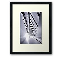 Will we survive? Framed Print