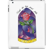 Until the last petal falls iPad Case/Skin