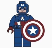 Captain America What a Brick Kids Clothes