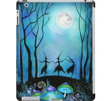 Witches Dancing Under the Moon iPad Case/Skin