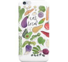 Eat More Veggies iPhone Case/Skin