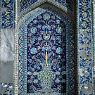 Detail, Medresseh tiled window by cascoly