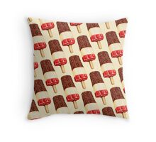 Fab Popsicle Pattern Throw Pillow