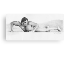 Untitled male study Canvas Print