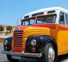 Old Maltese Bus (1952)  by Stanislav Sokolov