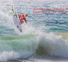 Australian Open of Surfing - mens winner - by Gary Blackman