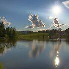 Lake and Sun HDR  by Stanislav Sokolov