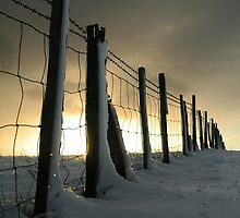 Mount Caburn Snow by mikebov