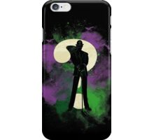 Riddler space iPhone Case/Skin