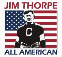JIM THORPE-ALL AMERICAN by OTIS PORRITT