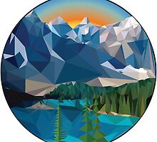 Polygon Mountain by OldSketchTues