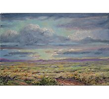 Clouds over the Plains Photographic Print