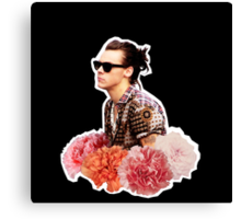 Harry Styles Man Bun  Canvas Print