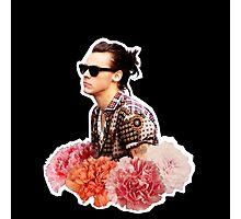 Harry Styles Man Bun  Photographic Print