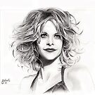 Meg Ryan by Simon Aberle