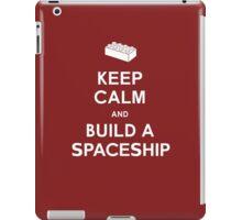 Keep Calm and Build a Spaceship iPad Case/Skin