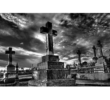 The Cemetery  Photographic Print