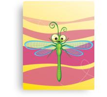 Critterz - Dragonfly 3 Canvas Print