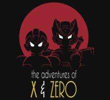 The Adventures of X & Zero Kids Clothes