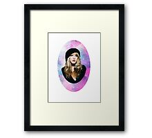 May The Stevie Be With You Framed Print