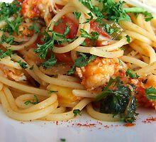 Spaghetti Marinara  by TriciaDanby