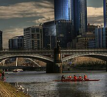 Afternoon on the Yarra.... by GerryMac