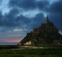 Mont St. Michel by Coenraad Heijdemann