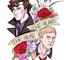 The Head, The Heart by sakibatch