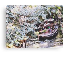 Disneyland's Jungle Cruise  Canvas Print