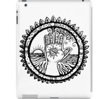 BLESSING HAND iPad Case/Skin