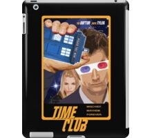 Time Club | Doctor Who | The Tenth Doctor & Rose Tyler | 3D Glasses iPad Case/Skin