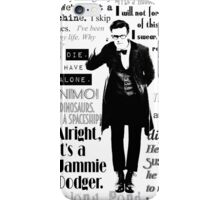 Elevent hour - on white iPhone Case/Skin