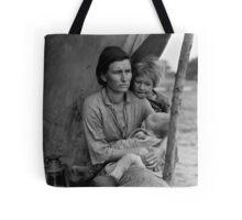 Dorothea Lange, Migrant mother (alternative), Nipomo, California, 1936 Tote Bag