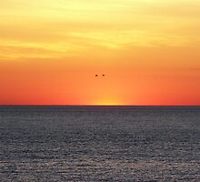 Sunrise Over The Atlantic by Gayle Dolinger