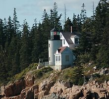Bear Island Lighthouse by Kathleen Struckle