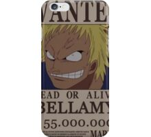 Wanted Bellamy - One Piece iPhone Case/Skin