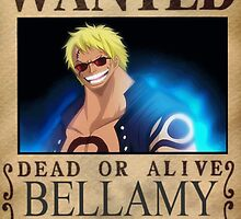 Wanted Bellamy - One Piece by yass-92