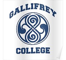 Gallifrey College Poster