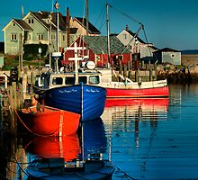 Pegg's Cove, Nova Scotia by kenmo