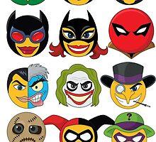 Bat-Moticons by masciajames