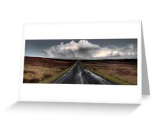 Lauder Highway First Edition Greeting Card