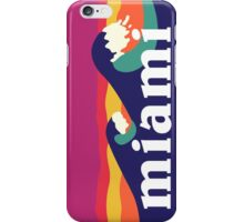 Miami Waves iPhone Case/Skin