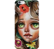 Wild Flower :: Pop Surrealism Little Scamp iPhone Case/Skin