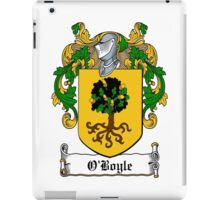 O'Boyle (Donegal)  iPad Case/Skin