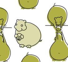Hamsters Sticker