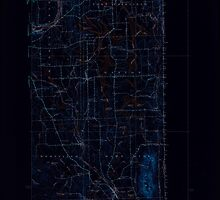 Maine USGS Historical Map Mars Hill 460593 1940 62500 Inversion by wetdryvac