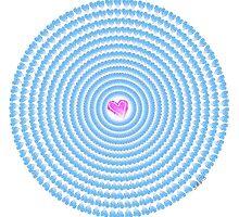 sdd Happy Heart Fractal 7K by mandalafractal