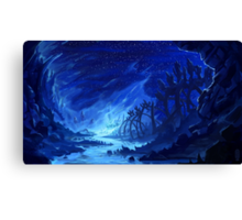 Haunted Marsh Canvas Print